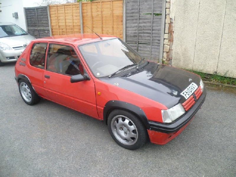 Peugeot 205 Rallye Arches Images